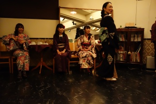 TH Dance strut kimono