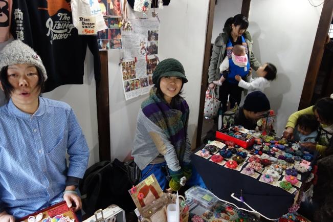 senju volunteer stall