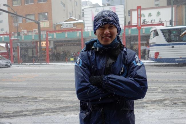 snow rickshaw driver