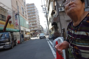 Sasami end Kashima and truck