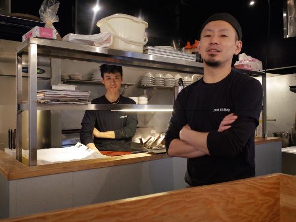 Fuji ramen Ka and Kosuke