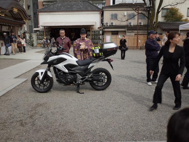 fuji wedding bike bless