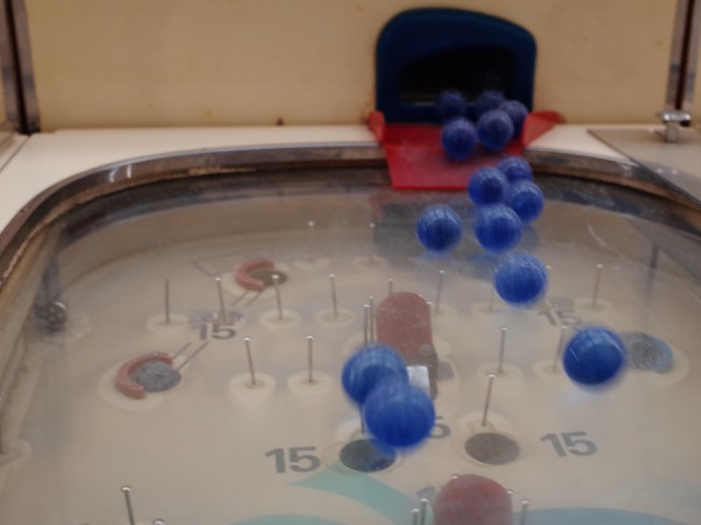 sball blue tumbling