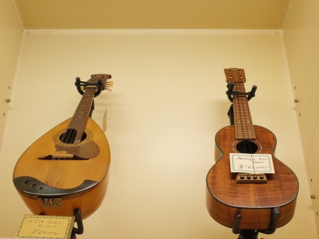pawn uke and mandolin